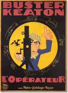 Posters - Poster A181 - L Operateur - Buster Keaton - Movie Poster ...