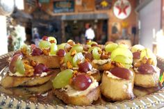Earlier tonight as vows were being exchanged, our #SanLuisObispo crew worked furiously inside the Holland Ranch barn to crank out these exquisite Rebanada de Uva appetizers.  More: https://www.sohotaco.com/2015/10/10/san-luis-obispo-wedding-catering-at-holland-farm #tacocatering #slo #wedding #hollandranch