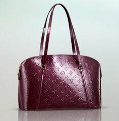 c805a7da90eb Louis Vuitton Avalon Zipped Monogram Vernis in Amarante