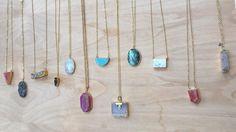 Quatrefoil tassel necklace  long beaded by KatherineRoseDesign