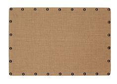 Linon Burlap Nailhead Corkboard, Medium Linon http://www.amazon.com/dp/B00H8T6QTK/ref=cm_sw_r_pi_dp_gcmawb0HVE9VJ