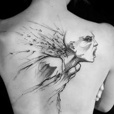 Enki Bilal tattoo