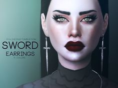 Sims 4 Piercings, Face Piercings, Queen Makeup, The Sims 4 Download, Sims Mods, The Sims4, Sims 4 Custom Content, Sims Cc, Sissi
