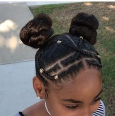 +Secrets To Black Girls Hairstyles Natural Protective Styles 70 - Little black girl hairstyles Lil Girl Hairstyles, Natural Hairstyles For Kids, Kids Braided Hairstyles, Kids Natural Hair, Natural Protective Hairstyles, Natural Protective Styles, Natural Hair Updo, African Hairstyles, Trendy Hairstyles