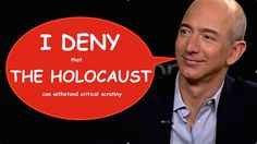 Jeff Bezos, Amazon endorse holocaust denial! (UPDATED)