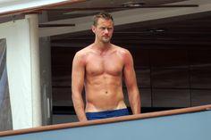 Alexander Skarsgard in Capri on 6/24/17 (+more)