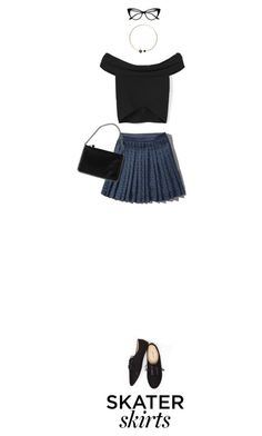 """""""SS.3"""" by khairunnisarahma ❤ liked on Polyvore featuring Abercrombie & Fitch, MANGO, Wet Seal, STELLA McCARTNEY, Artelier by Cristina Ramella, contest, simpleoutfit and skaterSkirts"""