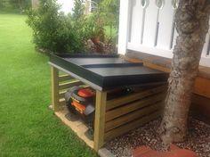 Small Lawn Mower, Shed Storage, Locker Storage, Automatic Lawn Mower, Grass Mower, Garden Oasis, Garden Boxes, Yard, Outdoor Decor