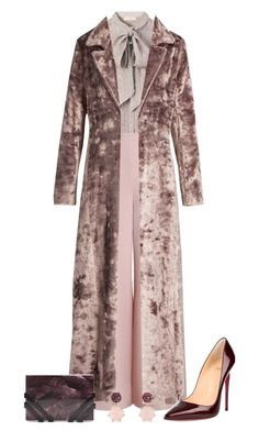 Untitled #3201 by elia72 on Polyvore featuring polyvore, fashion, style, Tory Burch, Rosie Assoulin, Zimmermann, Christian Louboutin, Nathalie Trad, David Yurman and clothing #elia72