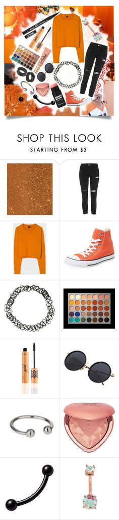 """""Look alive sunshine"""" by katlanacross ❤ liked on Polyvore featuring Effy Jewelry, So It Goes, River Island, Paul Smith, Converse, Kat Von D, Hot Topic, Too Faced Cosmetics and Miss Selfridge"