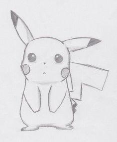 Pikachu (sad) à partir de - # # à partir de - Zeichnungen traurig - Cute Easy Drawings, Sad Drawings, Cool Art Drawings, Pencil Art Drawings, Art Drawings Sketches, Disney Drawings, Cartoon Drawings, Animal Drawings, Drawing Disney