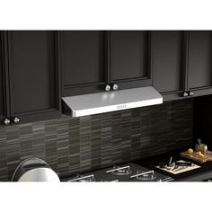 530 cfm under cabinet range hood in stainless steel617