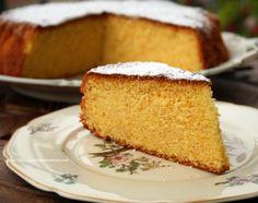 Ricetta torta di mais e arance- orange polenta cake. /Reteta prajitura cu faina de malai si aroma intensa de portocale.
