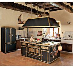 Metal kitchen cabinets by Restart Firenze