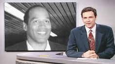 """On """"Weekend Update,"""" Norm Macdonald reports on Bob Dole's resignation from the Senate, Ted Kaczynski still being a virgin, Jack Kevorkian's first interview, O.J. Simpson's support for Marlon Brando and President Clinton and more. [Season 21, 1996]"""