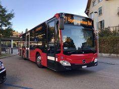 Bernmobil C2 K 435 beim verlassen des Bhf Bümpliz Süd, am 16.10.17. Bern, Mobiles, Buses And Trains, Busses, North Korea, Public Transport, Coaches, Long Distance, Transportation