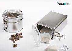 Embalagens de metal em diferentes formatos, para diversas utilizações no seu dia-a-dia.