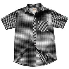 Short Sleeve Gingham