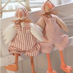 The Tilda Characters Collection: Birds, Bunnies, Angels & Dolls Sewing Hacks, Sewing Projects, Stuffed Animal Patterns, Dinosaur Stuffed Animal, Bunny Book, Norwegian Knitting, Chickens And Roosters, Textiles, Sewing Toys