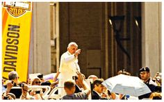 Funeral Fund Blog: Riding on the highway to heaven? Pope auctions his Harley Davidson chopper for charity.