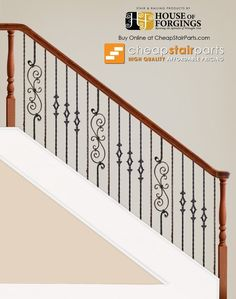 Best Brazilian Cherry Stairs With White Risers Solid Oak 400 x 300