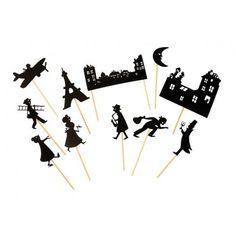 """Chic! Un cadeau I Le kit d'ombres chinoises """"Toits de Paris"""" par Moulin Roty"""