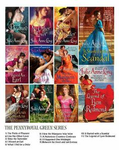 Pennyroyal Green Series by Julie Anne Long