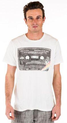 JUNK FOOD CLOTHING Men's Pink Floyd Tape T-Shirt « Clothing Impulse