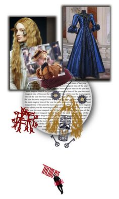 """""""Indulge Your Dark Side with Crimson Peak : Contest Entry"""" by gagenna ❤ liked on Polyvore featuring vintage"""
