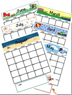 School Days Calendar Color  Coloring Book Styles  Microsoft
