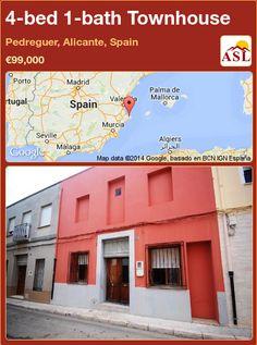 4-bed 1-bath Townhouse in Pedreguer, Alicante, Spain ►€99,000 #PropertyForSaleInSpain