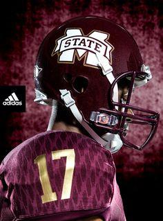 7bc875b39 adi-1547 NCAA Football Miss St Helmet 00 College Football Uniforms