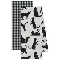 Cat's Meow Dish Towel Set – GreaterGood