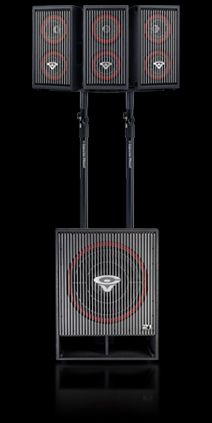 The is an extremely versatile dual active full-range speaker system from Cerwin-Vega. Pro Audio Speakers, Audiophile Speakers, Monitor Speakers, Powered Speakers, Dj Equipment For Sale, Audio Equipment, Subwoofer Box Design, Speaker Box Design, Speaker System