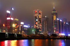 City lights are Stunning! Hong Kong