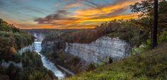genesee river gorge by Steve Welle