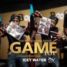 DVD VIDEO CHANNEL EDITION!! GAME 101 IN THE STREETS TODAY!! GET YOUR COPY #Game101  #wearestreetvibes #ICEYWATER #juiceJula #supportjuicejula #supportthestreets #supportSV www.wearestreetvibes.com