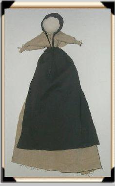 Amish pew baby doll