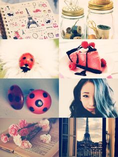 """Marinette Dupain-Cheng - Ladybug """"He looks at me, I look away But does he see me anyway?"""""""