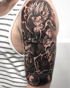 20 Super Ideas For Tattoo Dragon Ball Ink Dragonball Z Z Tattoo, Tattoo Off, Tattoos Masculinas, Body Art Tattoos, Sleeve Tattoos, Tattoos For Guys, Cool Tattoos, Gaara Tattoo, Tatoos