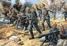 WWI Brave German Infantry