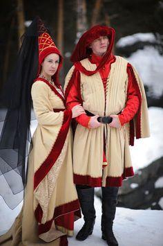 15th .c Burgundian dress
