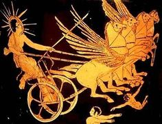 1000+ images... Helios Chariot Drawing