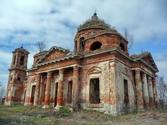 God-forsaken: Abandoned churches and cathedrals of Russia - 39 / Holy Trinity Church, 19 century. The village of Fedyaevo, Smolensk Oblast