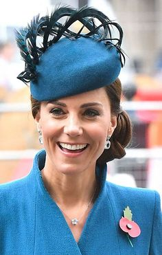 a2a9e3cc Kate Middleton looks so terrific in teal Catherine Walker at Westminster  Abbey | HELLO!