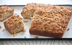 Coconut Crumb Cake // You'll love this on a weekend morning! #spring #recipe