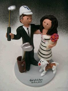 funny golf themed wedding cake toppers 1000 images about live golf on golf 14545