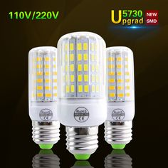 Cheap led light, Buy Quality led bulb directly from China led corn Suppliers: Lamparas Brighter Than 5736 LED Corn Lamp LED Bulb Spot Luz Ampoule LED Light Replace Incandescent Cheap Led Lights, Light Blue Shorts, Spots, Lampe Led, Landline Phone, Light Bulb, Ebay, Crystals, Electronics
