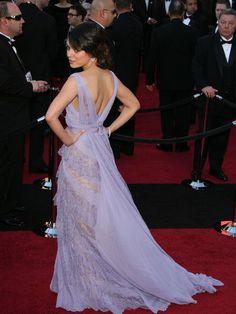 Mila Kunis: red carpet couture - Ellie Saab