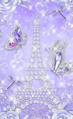 Diamond Wallpaper, Iphone Wallpaper Glitter, Butterfly Wallpaper, Photo Background Images, Photo Backgrounds, Wallpaper Backgrounds, Phone Wallpapers, Glamour Wallpaper, Paris Wallpaper